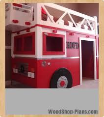 Loft Bed Woodworking Plans by Fire Truck Loft Bed Woodworking Plans Woodshop Plans