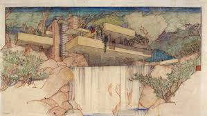 100 Frank Lloyd Wright Sketches For Sale Collection Moves To MoMA And Columbia