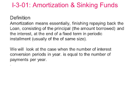 Define Annual Sinking Fund by 100 Definition Of Sinking Fund In Property Accounting