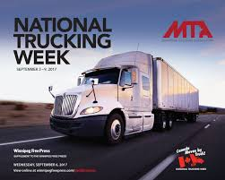 National Trucking Week | In The News | CentrePort Canada Commercial Truck Insurance National Ipdent Truckers Association Home Trucking Industry News Arkansas A Salute To Drivers Across The Us Rev Group Inc On Twitter American Associations Ata Is Minority Top Women In Logistics North Carolina Calendar Struggles With Growing Driver Shortage Npr
