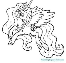 Little Pony Coloring Pages Pdf My Rainbow Dash