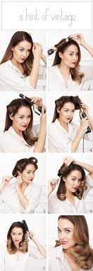 Cute Easy Retro Hairstyles