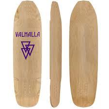 Pintail Longboard Deck Template by Valhalla Skrilla Longboard Skateboard Deck W Grip Muirskate Com