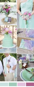 Purple And Mint Wedding Color Ideas For 2017