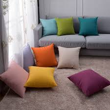 Decorative Couch Pillow Covers by Online Get Cheap Orange Cushion Covers Aliexpress Com Alibaba Group