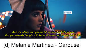 Fall Love and Game LYRICS And it s all fun and games till somebody