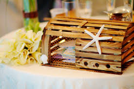 Decorative Lobster Traps Large by Lobster Trap Card Box Fitting For Our Maine Wedding Wedding