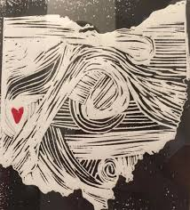 Block Printmaking On Linoleum Is The Process Of Carving An Image Inking It And Printing This A Fun Unique Way Creating Hand Made Piece