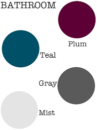 Dark Colors For Bathroom Walls by Or Master Bath Use A Dark Tone Of The Bedroom U0027s Accent Color For