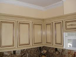 Thermofoil Cabinet Doors Replacements by Cabinet Door Replacement Two Different Marble Tile Backsplash