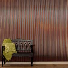 Fasade Decorative Thermoplastic Panels Home Depot by Fasade Rib 96 In X 48 In Decorative Wall Panel In Fern S65 36