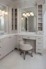 Diy L Shaped Bathroom Vanity by Best 25 Vanity Stool Ideas On Pinterest Stool For Dressing