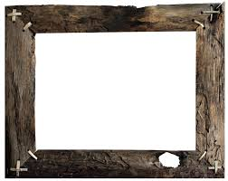 Barn Wood Frame Transparent Background