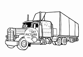 Semi Truck Coloring Pages Best Of Stock Garbage Truck Coloring Page ...