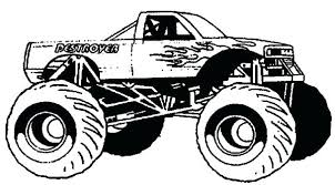 Race Truck Coloring Pages Car