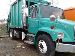 2001 Used Freightliner FL80 SINGLE HOPPER 18 YARD PACKER PRIVATE ...