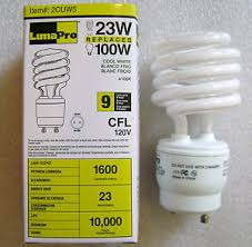 23w 4100k spiral light bulb twist lock gu24 non dimmable cfl
