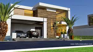 100 Contemporary House Design 3D Front Elevationcom Beautiful 2016
