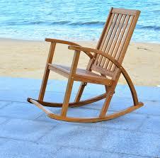 Wayfair Rocking Chair Uk by Wood Patio Rocking Chairs U0026 Gliders You U0027ll Love Wayfair