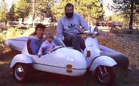 The Sidecar Was Especially Made To Fit Vespa Top Speed About 45 On Level Ground With No Wind Heres A Pic
