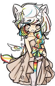 Rainbow Unicorn Cute