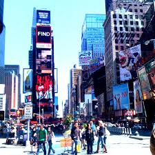 The one tree in Times Square Look closely and youll see it