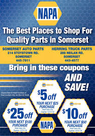 The Best Place To Shop For Quality Parts, NAPA SOMERSET AUTO PARTS