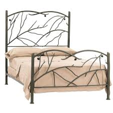 Bed High Metal Bed Frame Home Interior Decorating Ideas