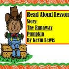 The Runaway Pumpkin by The Runaway Pumpkin A Tasty Halloween Unit More Activities And