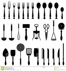 ustensile de cuisine ustensile de cuisine illustration de vecteur illustration du