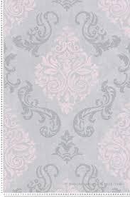 papier peint médaillons à paillettes gris et collection