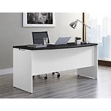 Staples Desk Corner Sleeve by Altra Pursuit Executive Desk White Gray 9319296 Staples