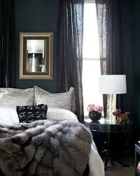 Dark Linen Curtains Moody Cool A Gallery Of Bedrooms