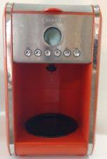 BELLA 13839 Dots Collection 12 Cup Programmable Coffee Maker Orange