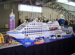 Lego Ship Sinking 2 by 28 Facebook Biggest Lego Cruise Ship Punchaos Com