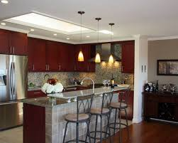 awesome best lighting for kitchen ceiling with two ways decoration