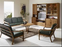 Wooden Sofa Set Design Of 2016 Simple Pl4895758 Living Room