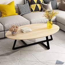 de oval wohnzimmertisch couchtisch sofa