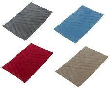 badezimmer teppich teppich badematte rot 40 x 60 cm ebay