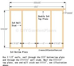 side wall saltbox shed plans page 7