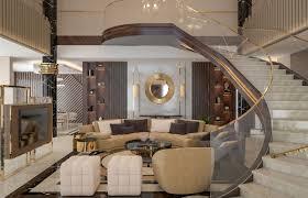 luxury contemporary villa interior design comelite