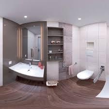 modernes badezimmer anobia baudet sa gips
