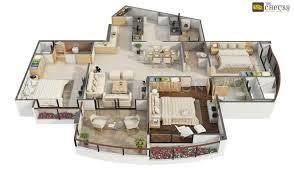 100 Modern Design Floor Plans More 8 Luxury Low Budget 3 Bedroom House Plan 3D