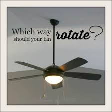 Should Ceiling Fans Spin Clockwise Or Counterclockwise by Which Way Should Your Ceiling Fan Rotate
