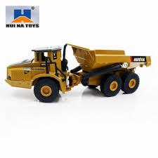 100 Model Toy Trucks 2019 HUINA TOYS NO1712 150 Alloy Dump Car CarDie Cast Metal
