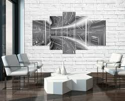 bilder drucke 5 teilig leinwandbild wandbild kunst tunnel