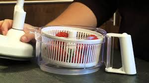 Progressive Over The Sink Colander by Food Prep Machine Kitchen Gadget Demo Video Progressive