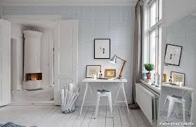tapisserie bureau papier peint toilette with contemporain salle de bain décoration