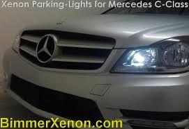 xenon parking lights mercedes c350 c300 c250 c63