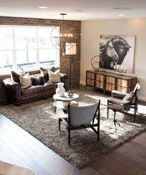 Best 25 Rustic Industrial Decor Ideas On Pinterest Pertaining To Living Room Plans 10 30 For A Cozy Organic Home Design